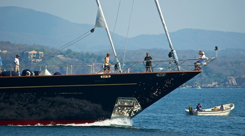Tamsen superyacht huatulco mexico sail blog