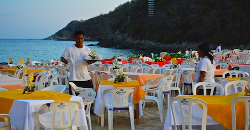 Huatulco celebrates New Year's (from our sail blog)