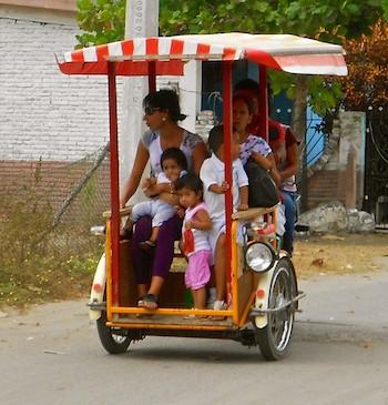 Marina Chiapas Puerto Madero Pedicabs