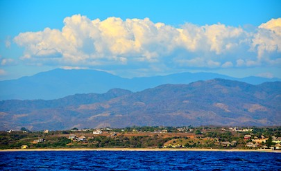 puerto escondido coastline sailing blog