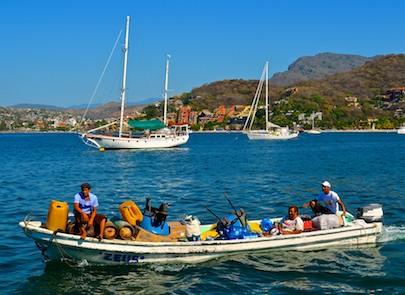 Zihuatanejo Playa Last Gatas Mexico sail blog