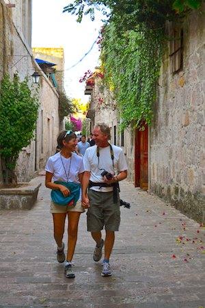Callejon del Romance Morelia Mexico cruising blog