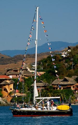 sailing blog Zihuatanejo Sail Fest Mexico