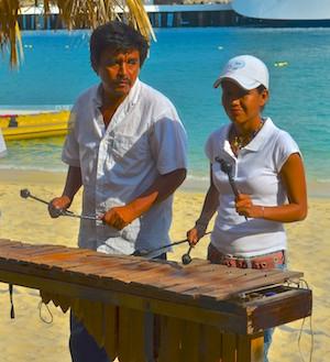 Marimba Santa Cruz Huatulco Mexico sail blog