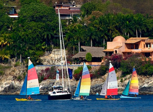 living aboard blog Mexico Zihuatanejo Sail Fest