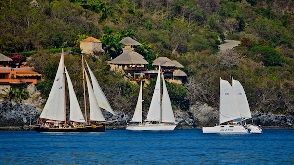 sailing blog Mexico Zihuatanejo Sail Fest