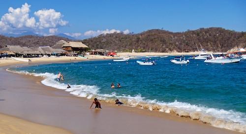 San Agostin Huatulco Mexico sail blog