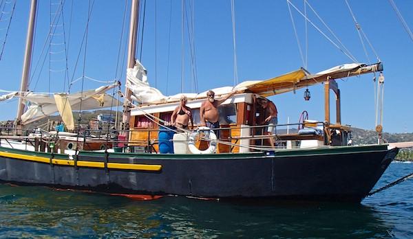 sailing blog schooner Patricia Belle Zihuatanejo Sail Fest