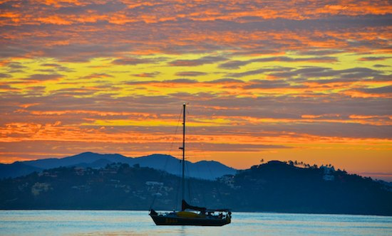 Sunrise in Santiago Bay Manzanillo