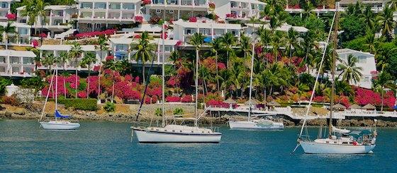 sailing blog Las Hadas anchorage manzanillo mexico
