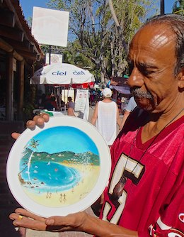 plate painter Francisco de Alba Castillo cruising blog