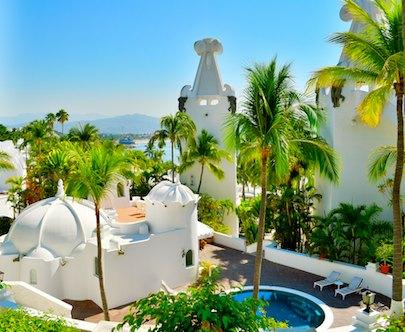 sail blog Las Hadas Resort architecture manzanillo mexico