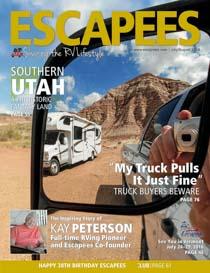 Escapees RV Magazine July 2016 Cover Photo