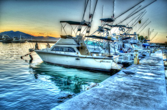 cruising blog las hadas docks HDR