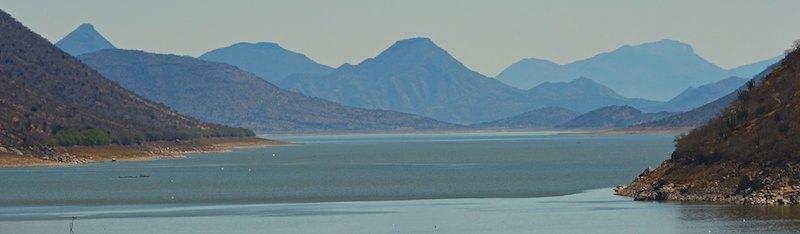 Michoacan Mexico Infiernillo dam