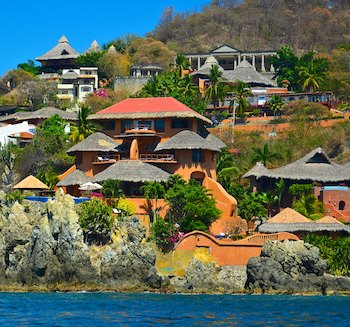Zihuatanejo bay resorts cruising blog