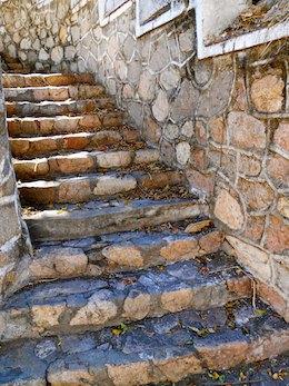 cruising blog Stone stairway las hadas