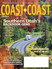 Coast to Coast Magazine Cover Summer 2013
