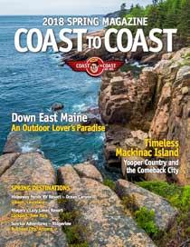 Coast to Coast Magazine Cover Maine Spring 2018
