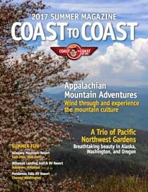 Coast to Coast RV Magazine Summer 2017 Cover Image
