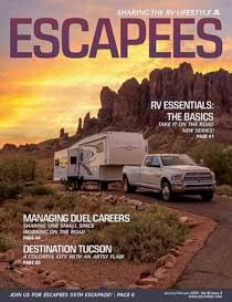 Escapees Magazine Cover Jan-Feb 2019