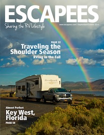 Escapees Magazine Cover Sep/Oct 2013
