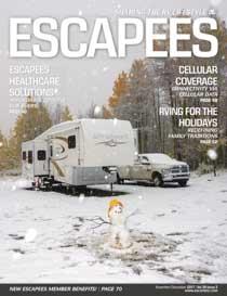 Escapees RV Club Magazine Nov-Dec 2017 Cover Image
