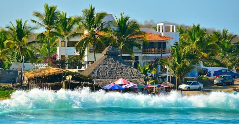 Chamela Bay Mexico surf XZQK3RSSYWQF