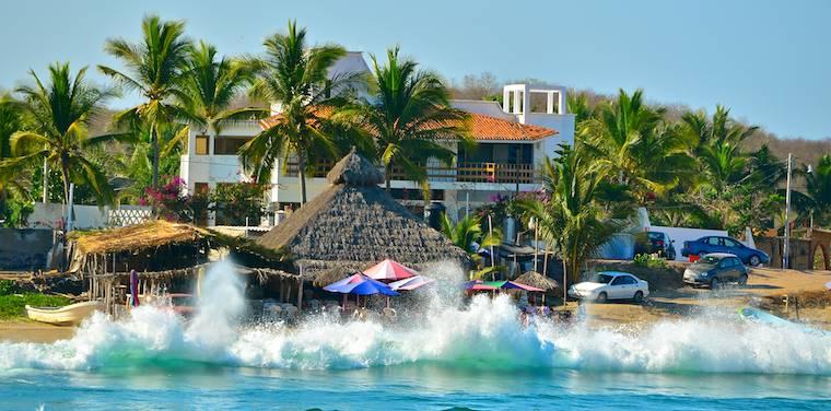 Bahia Chamela Mexico surf XZQK3RSSYWQF