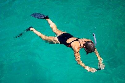 Snorkeling at Paraiso anchorage
