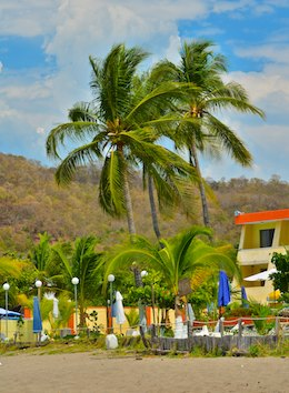 Cuastecomate beach hotel costalegre mexico