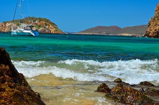 Anchored in Paraiso Mexico