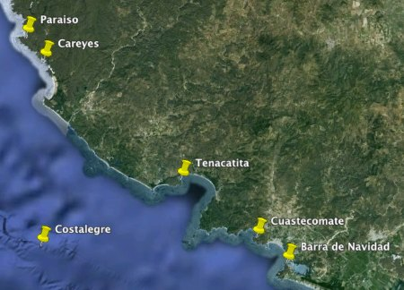 Costalegre Map (partial)