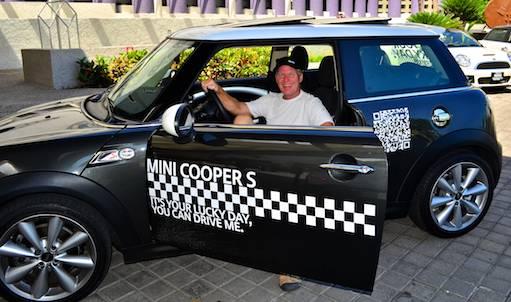 Mini cooper test drive