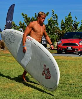 kiteboard world cup hunk