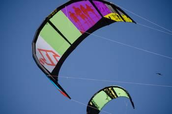 kiteboarding kite
