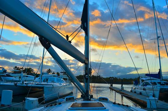 Paradise Village Marina sunrise