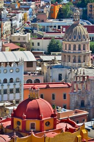 Guanajuato Cathedral Domes