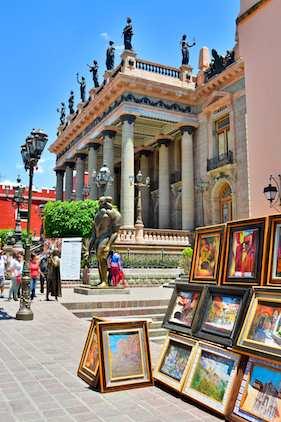 Teatro Juarez Guanajuato Mexico