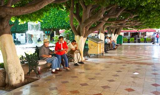 Jardin de la Union Guanajuato