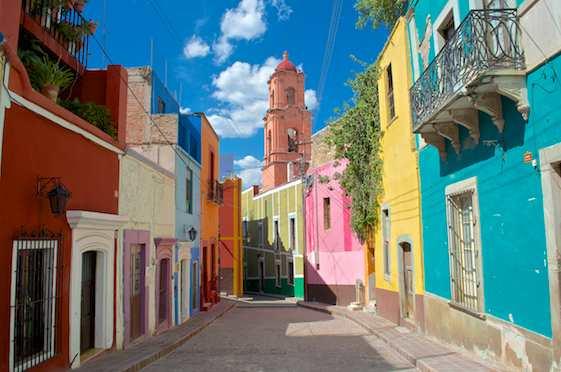 Guanajuato's colorful streets