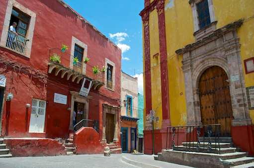 Street of Guanajuato