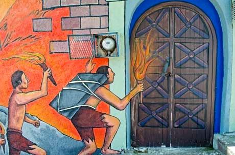 Pipila Wall mural