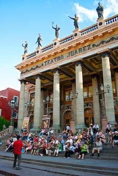 Guanajuato Teatro Juarea