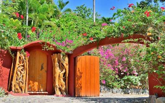 Casa Maguey Entrance