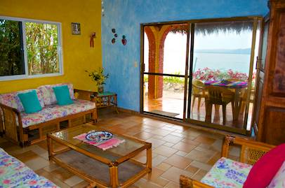 El Mar Sitting Room View