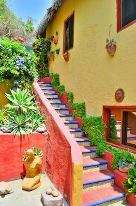 Casa Maguey Stairs