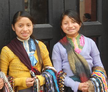 Girls in San Cristóbal de las Casa
