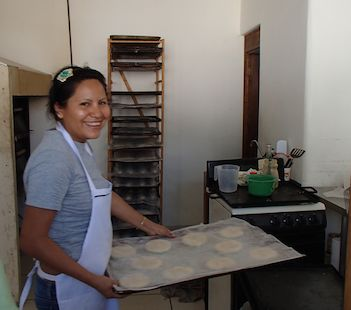Bakery in Huatulco