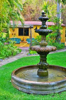 Fountain at Casa Maguey